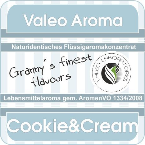 Cookie & Cream Flüssigaroma